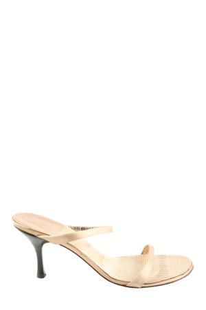 Bally Riemchen-Sandaletten creme Casual-Look
