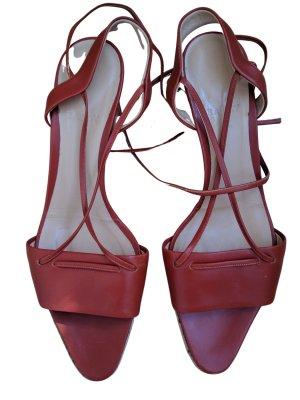 Bally Riemchen-Sandaletten hellorange Elegant