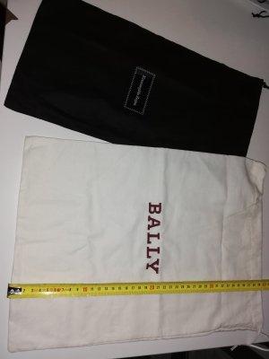 Bally Bolso de tela blanco-blanco puro