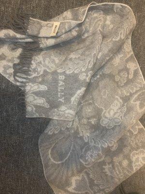 Bally Woolen Scarf light grey-grey