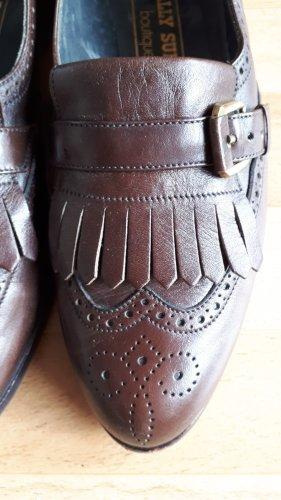 Bally Slip-on brun noir-brun cuir