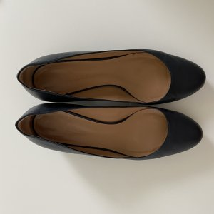 Bally Loafers donkerblauw Leer