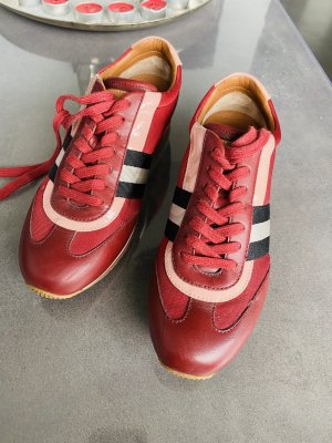 Bally Lace-Up Sneaker red-magenta