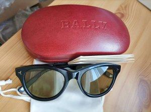 Bally Gafas de sol redondas negro-color plata