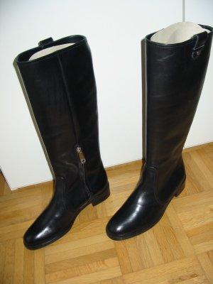 Bally Stiefel, 36,5, neuwertig, Leder, schwarz, sehr wenig getragen
