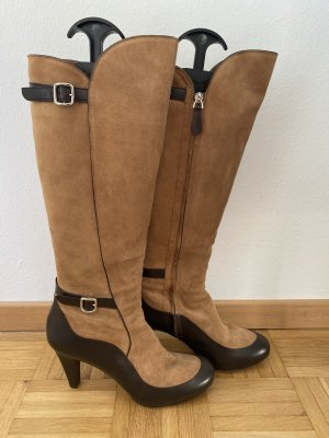 Bally Overknees camel-brown