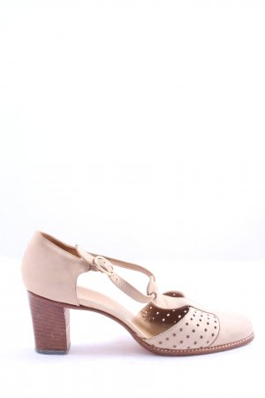 BALLY SUISSE High Heels creme Casual-Look