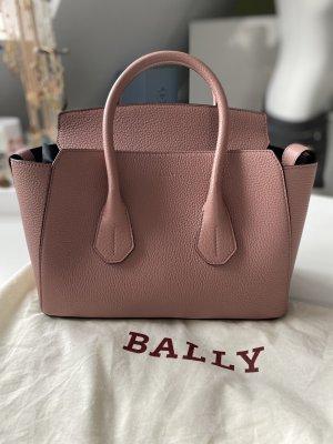 Bally Handtas rosé-stoffig roze