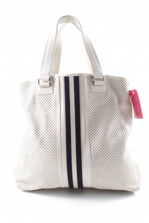 Bally Tote cream-black casual look