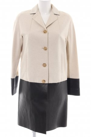 Bally Between-Seasons-Coat cream-black color gradient business style
