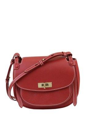 Bally Umhängetasche in Rot aus Leder