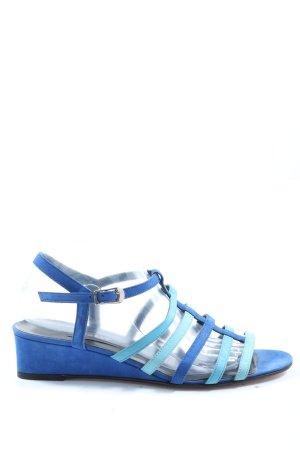 Bally Wedges Sandaletten blau Casual-Look