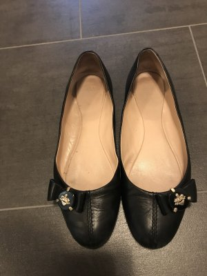 Bally Ballerines Mary Jane noir cuir