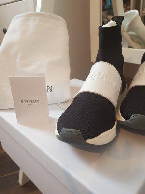 Balmain Slip-on Sneakers white-black