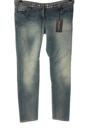 Balmain Jeans 7/8 bleu style décontracté