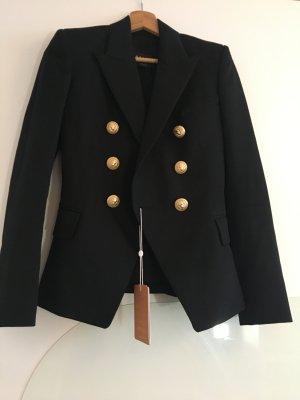 Balmain Blazer black 100% virgin wool size FR34