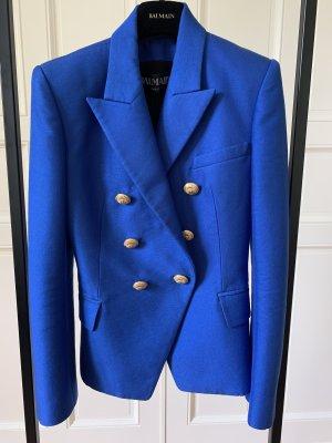 Balmain Klassischer Blazer blu