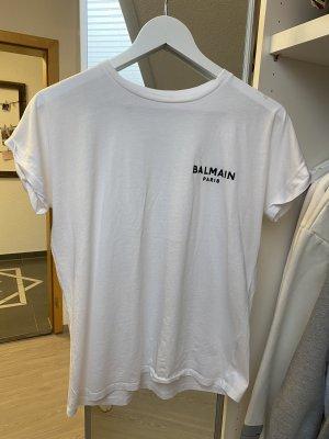 BALMAIN Flocked T-Shirt