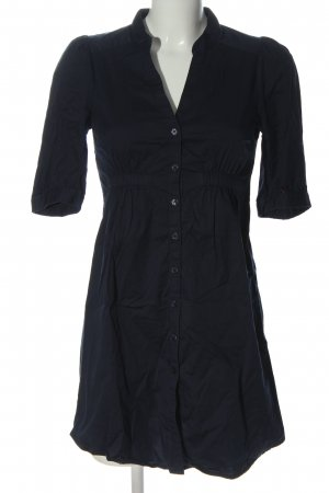 Balmain for H&M Hemdblusenkleid blau Business-Look
