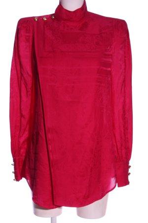 Balmain for H&M Langarm-Bluse rot Elegant