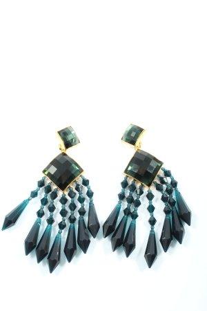 Balmain for H&M Orecchino a clip multicolore elegante