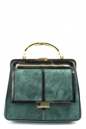 Balmain for H&M Canvas Bag turquoise business style