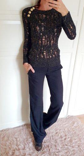 Balmain grobstrick Pullover Sweater gold luxus