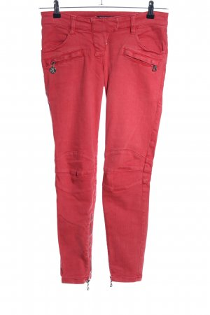 Balmain Low Rise Jeans red casual look