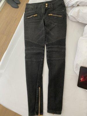 Balmain Jeans anthrazit