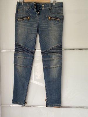 Balmain Jeans a sigaretta blu fiordaliso