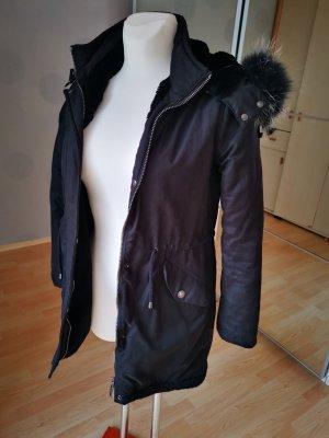Balmain Cappotto invernale nero Cotone