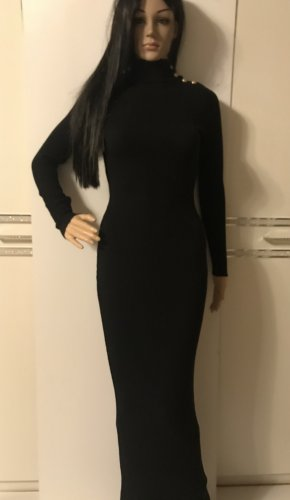 Balmain Robe longue noir