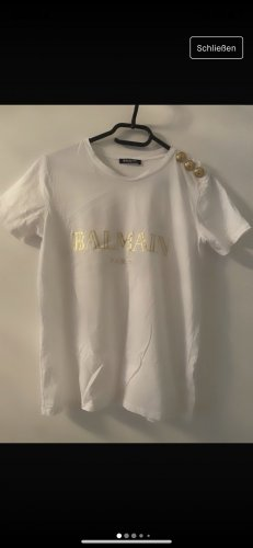 Balmain T-shirt blanc