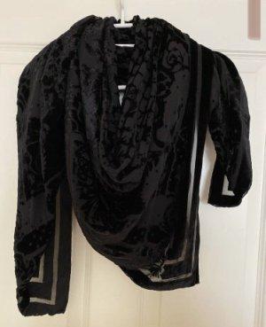 Balmain for H&M Écharpe en soie noir