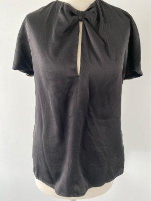 Balmain Blouse en soie noir soie