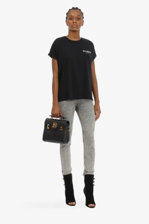Balmain Shirt Dress black