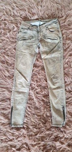Balmain skinny jeans moto biker hose jeggings marmor wash