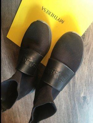 Balmain Sneaker alta nero