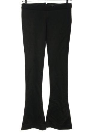 Balmain Pantalone jersey nero stile casual