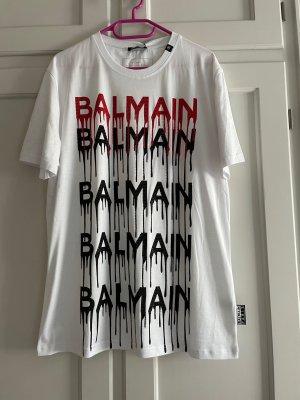 Balmain T-shirt multicolore coton