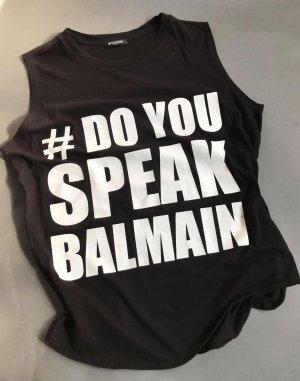 Balmain T-shirt noir