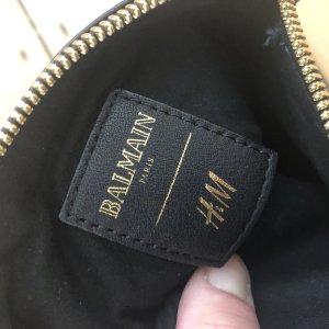 Balmain for H&M Borsa clutch blu scuro-nero