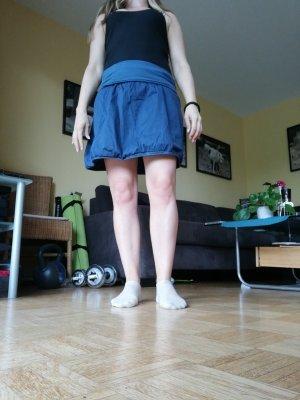 Kein Balonowa spódniczka stalowy niebieski