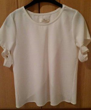 Baluoke Blouse à manches courtes blanc