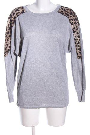 Baluoke Sweatshirt motif léopard style décontracté