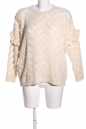 BALZAC paris Strickpullover creme Casual-Look