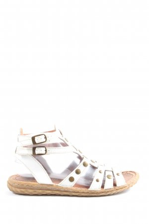 Bama Comfort Sandals white-gold-colored casual look