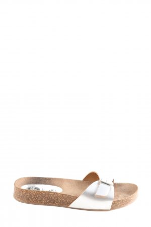 Bama Comfort Sandals silver-colored casual look