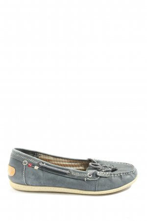 Bama Moccasins blue casual look