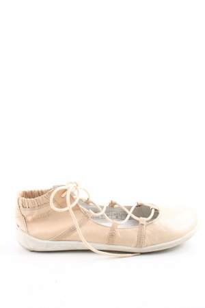 Bama Chaussures à lacets rose chair style extravagant